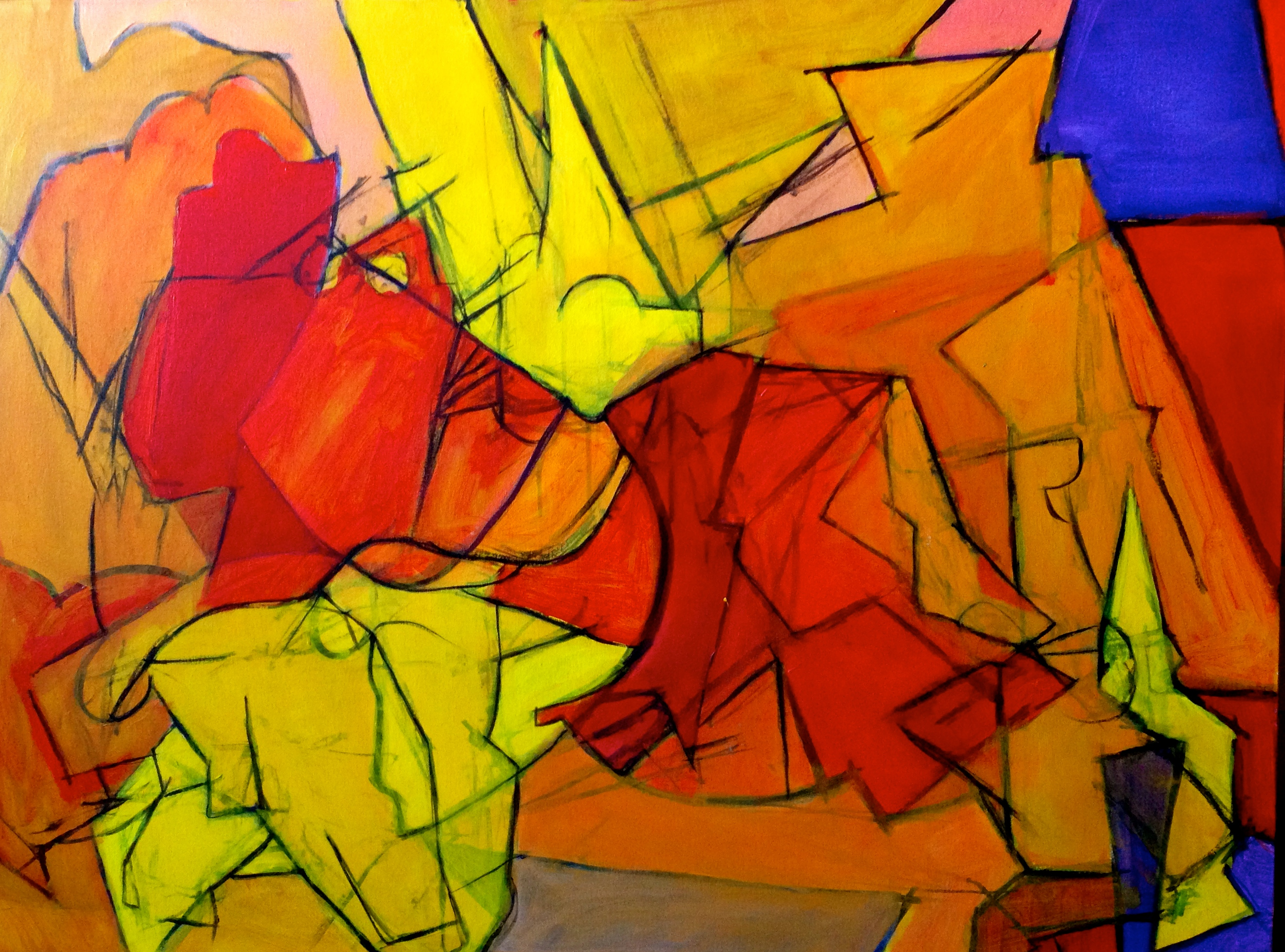Still Life to Abstraction: Exploring Color Families – Arts Benicia