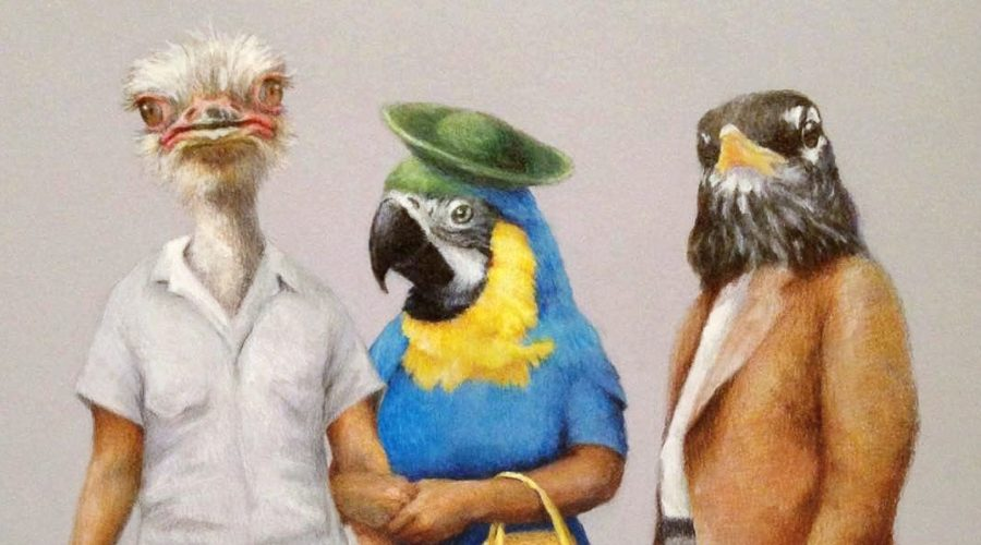 Birds of a Feather, an art and science panel